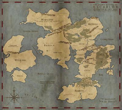 Eschalon World Map