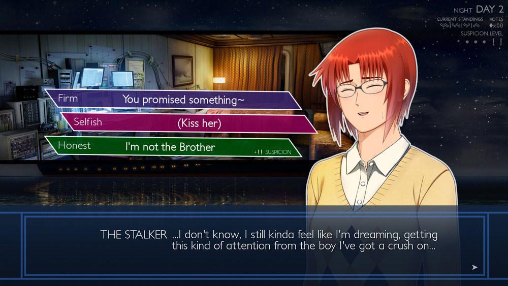 Ladykiller in a Bind: stalker