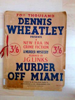 Murder off Miami: cover